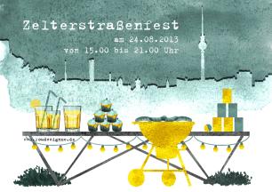 illustration _einladung_straßenfest zelter pate_youdesignme